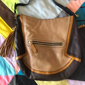 Luxe orYANY bag from Anthropologie leather